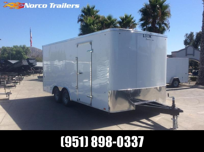 2020 Look Trailers ST 8.5 x 18 Tandem Axle Car / Racing Trailer