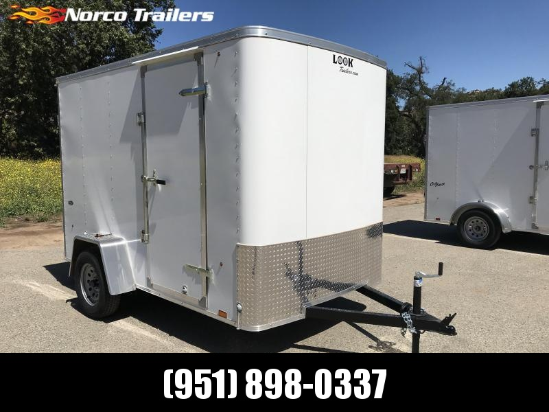 2019 Look Trailers STLC 6' x 10' Cargo / Enclosed Trailer