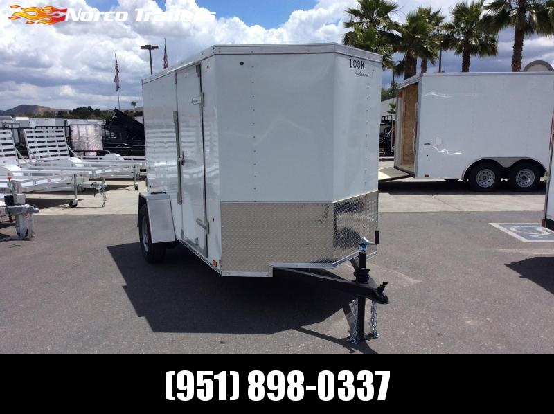 2019 Look Trailers STVLC 5 x 10 Single Axle Enclosed Cargo Trailer
