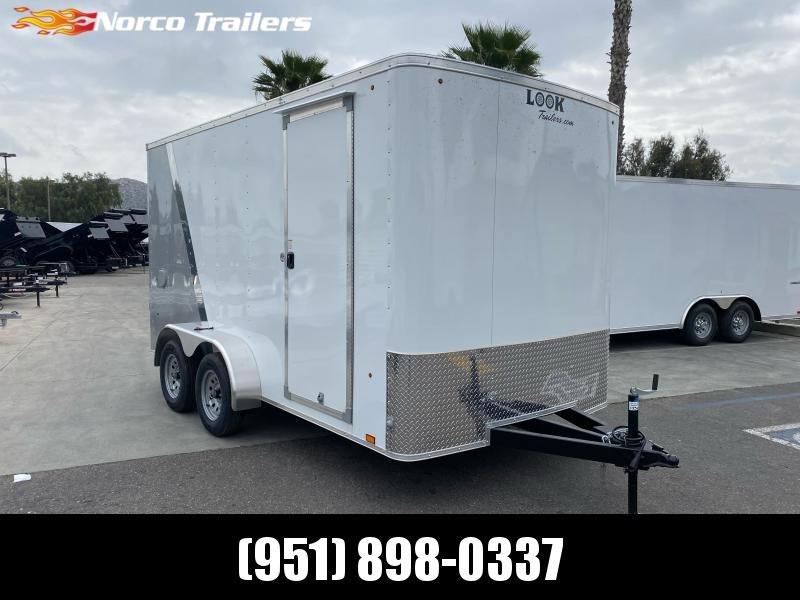 2021 Look Trailers STLC 7' x 14' Tandem Axle Enclosed Cargo Trailer