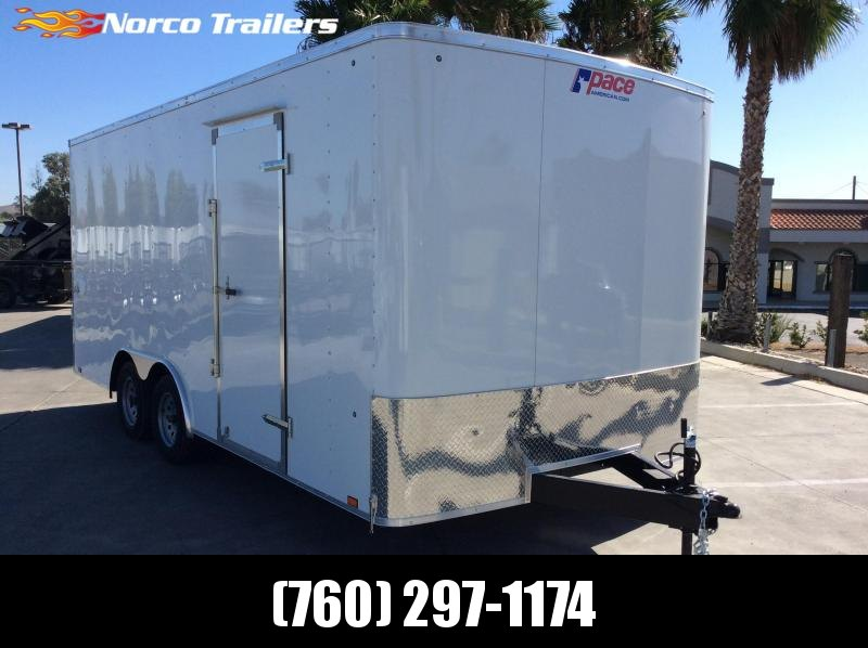 2020 Pace American Outback 8.5' x 18' Tandem Axle Car / Racing Trailer