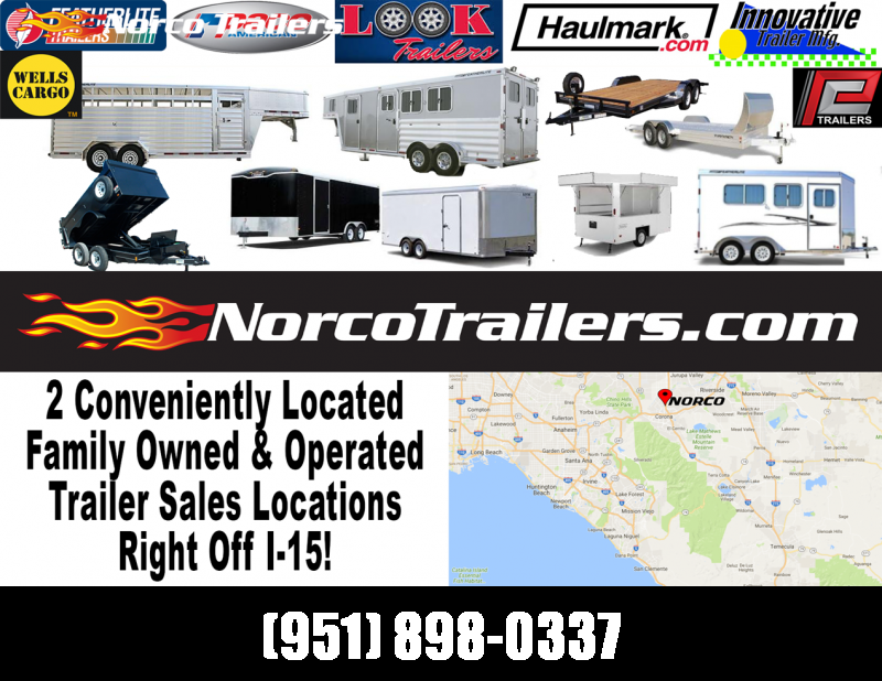 2020 Look Trailers Element 8.5 x 20 Tandem Axle Car / Racing Trailer