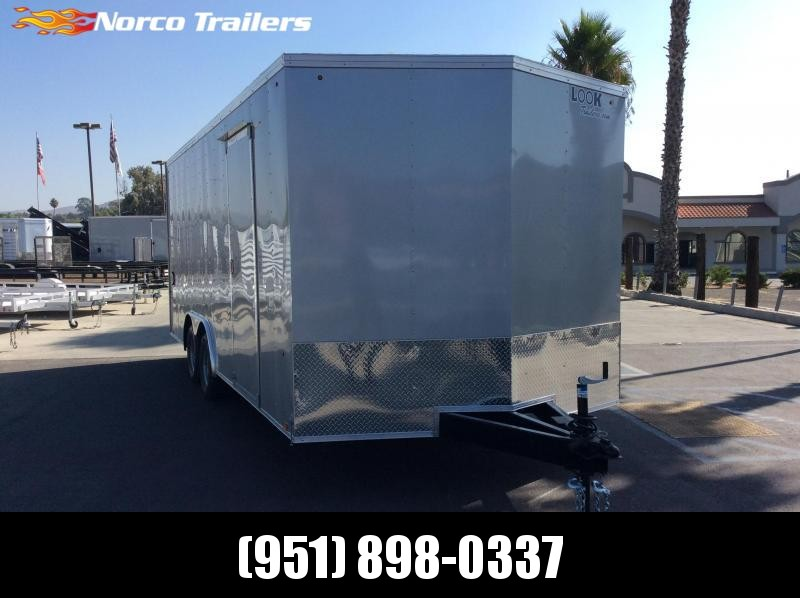 2020 Look Trailers Element 8.5' x 20' Tandem Axle Car / Racing Trailer