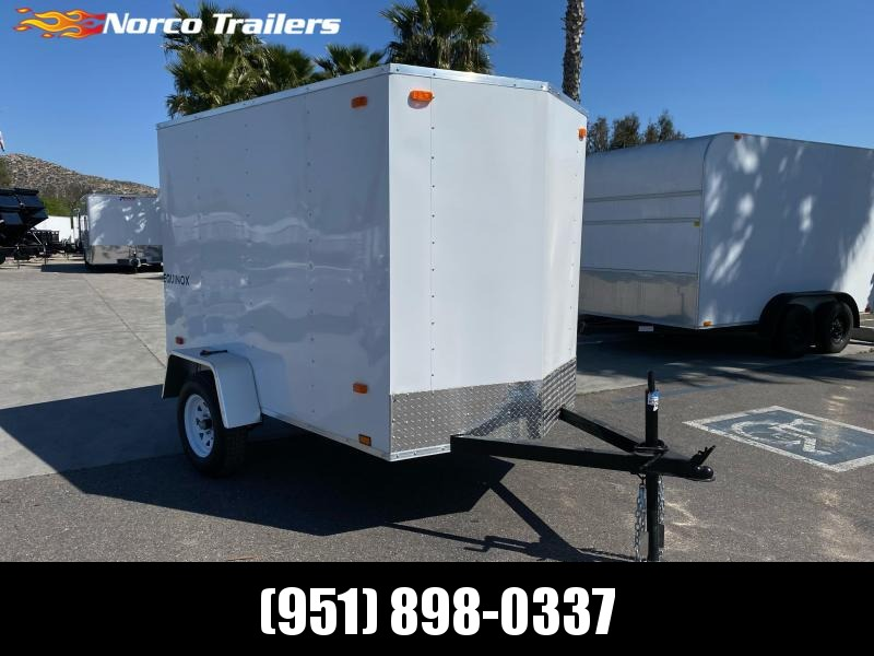 2021 Look Trailers Equinox 5' x 8' Single Axle Enclosed Cargo Trailer