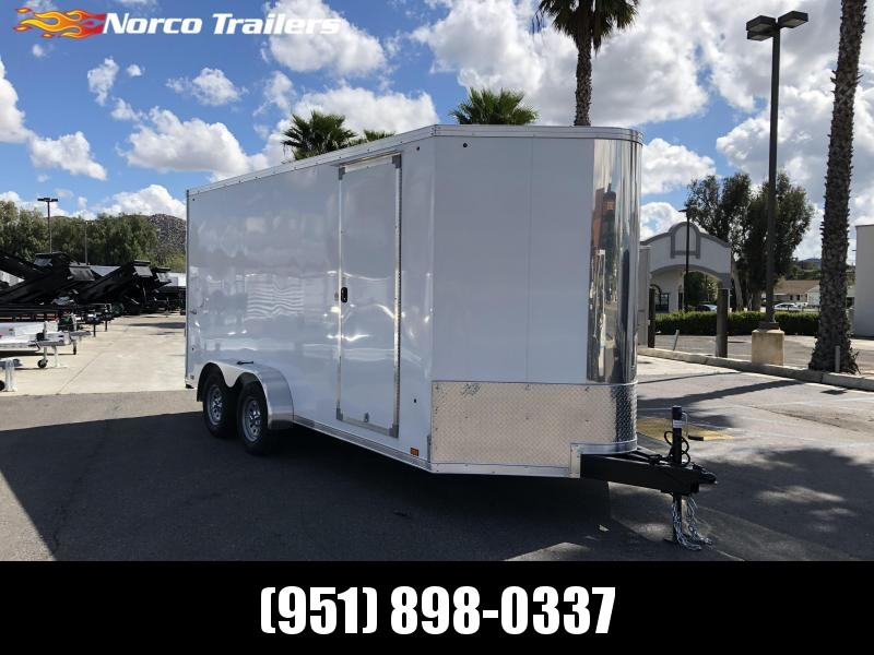 2021 Look Trailers Vision 7' x 16' Tandem Axle Enclosed Cargo Trailer
