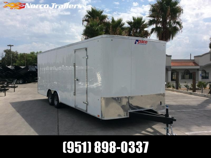 2020 Pace American Outback 8.5' x 24' Tandem Axle Car / Racing Trailer