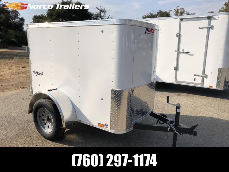 2019 Pace American Outback 4' x 6' Enclosed Cargo Trailer