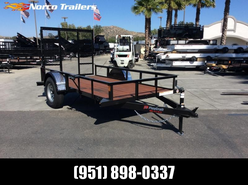 2019 Playcraft 5' x 10' Single Axle Utility Trailer