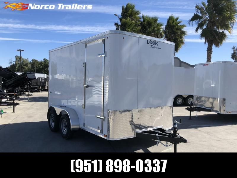 2021 LOOK STLC 7' x 12' Tandem Axle Enclosed Cargo Trailer