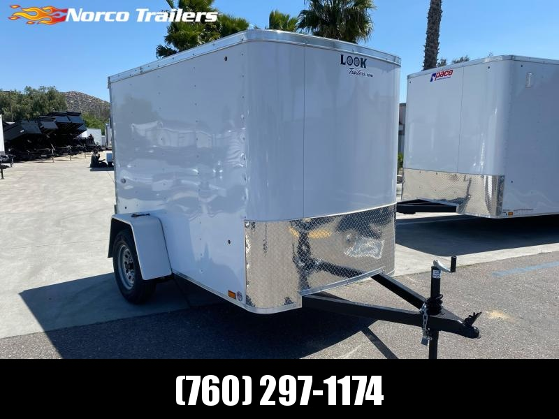 2021 Look Trailers STLC 5' x 8' Single Axle Enclosed Cargo Trailer