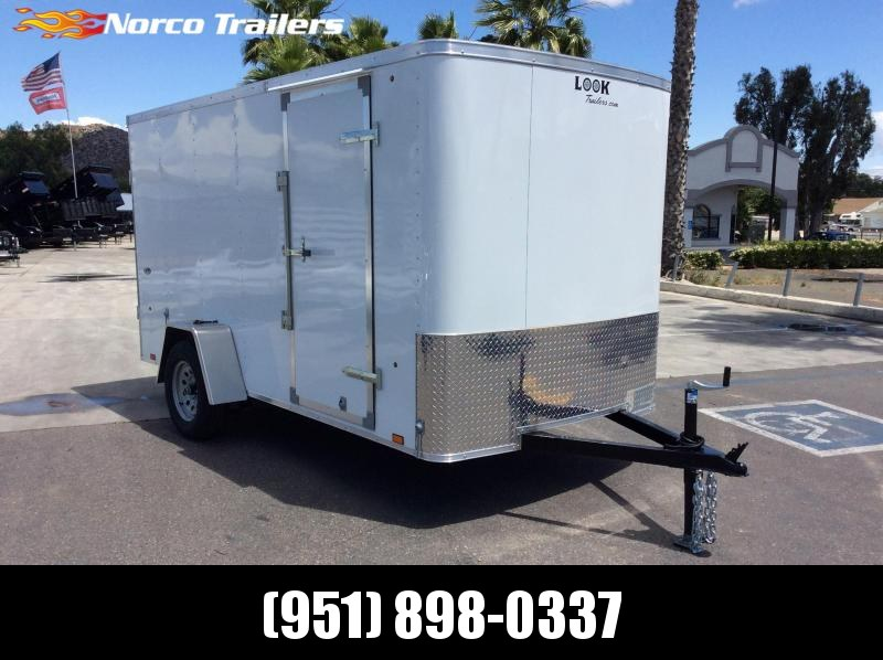 2019 Look Trailers STLC 6 X 12 Single Axle Enclosed Cargo Trailer