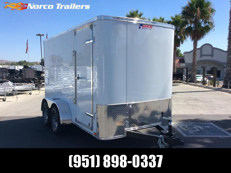2020 Pace American Outback 6' x 12' Tandem Axle Enclosed Cargo Trailer