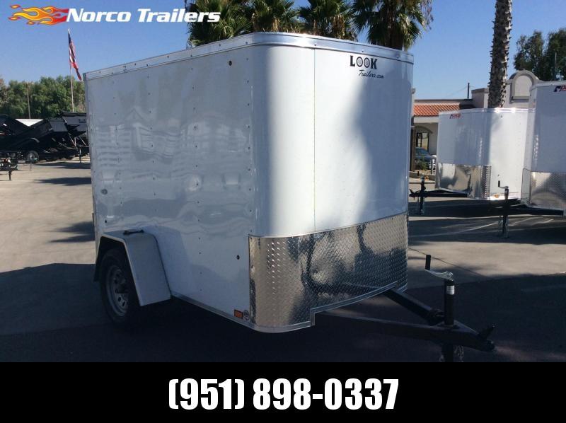 2020 Look Trailers STLC 5' X 8' Single Axle Enclosed Cargo Trailer