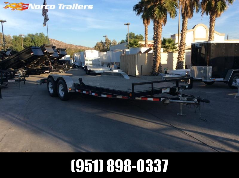"2015 PJ Trailers 83"" X 20' Tandem Axle Flatbed Trailer"