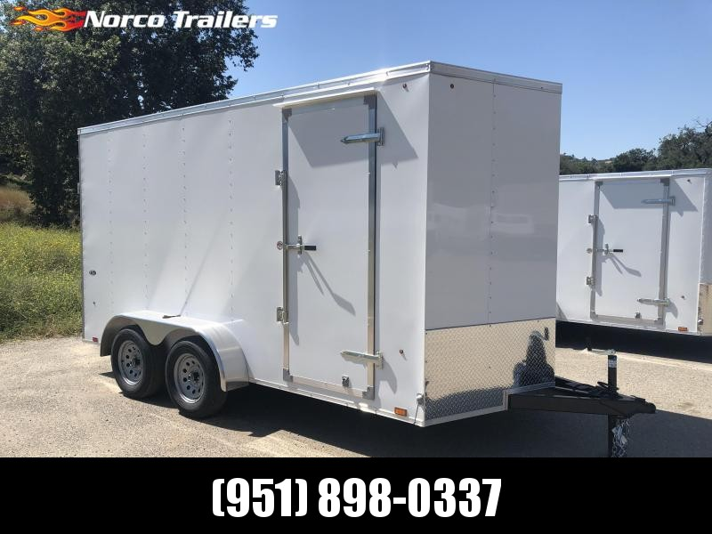 2019 Look Trailers Vnose STLC 7' x 14' Enclosed Cargo Trailer