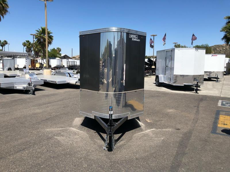 2021 Look Trailers Vision 5' x 10' Single Axle Enclosed Cargo Trailer