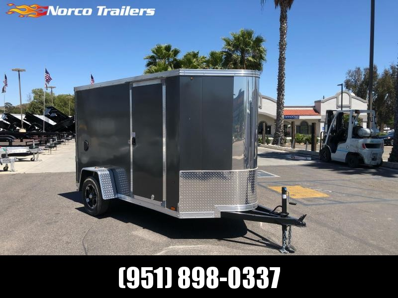 2021 Look Trailers Vision 5' x 10' Single Axle Enclosed Cargo Trailer