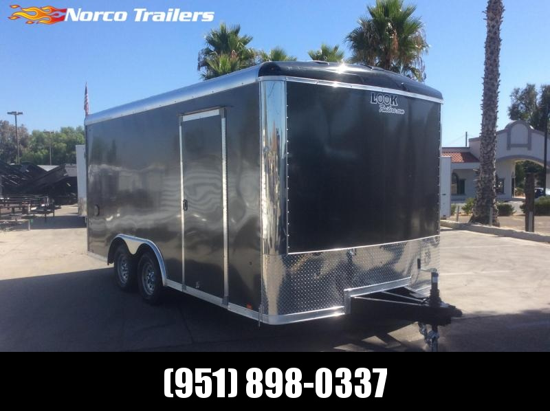 2020 Look Trailers Vision 8.5 x 16 Tandem Axle Car / Racing Trailer