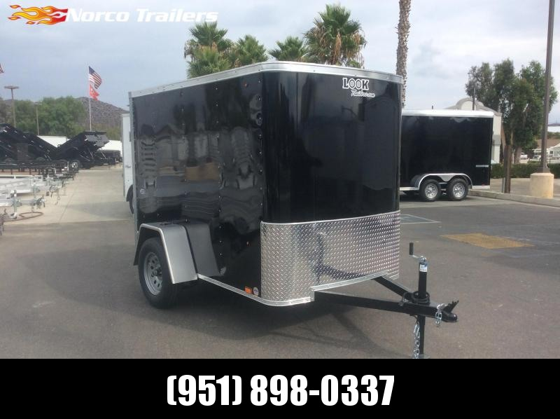 2020 Look Trailers STLC 5 X 8 Single Axle Enclosed Cargo Trailer