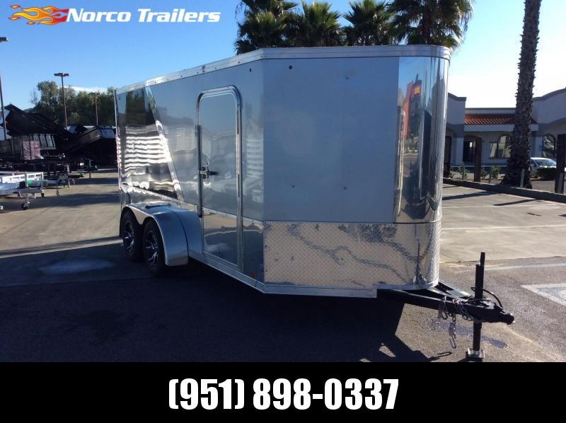 2014 Look Trailers Vision 7' x 14' Tandem Axle Enclosed Cargo Trailer