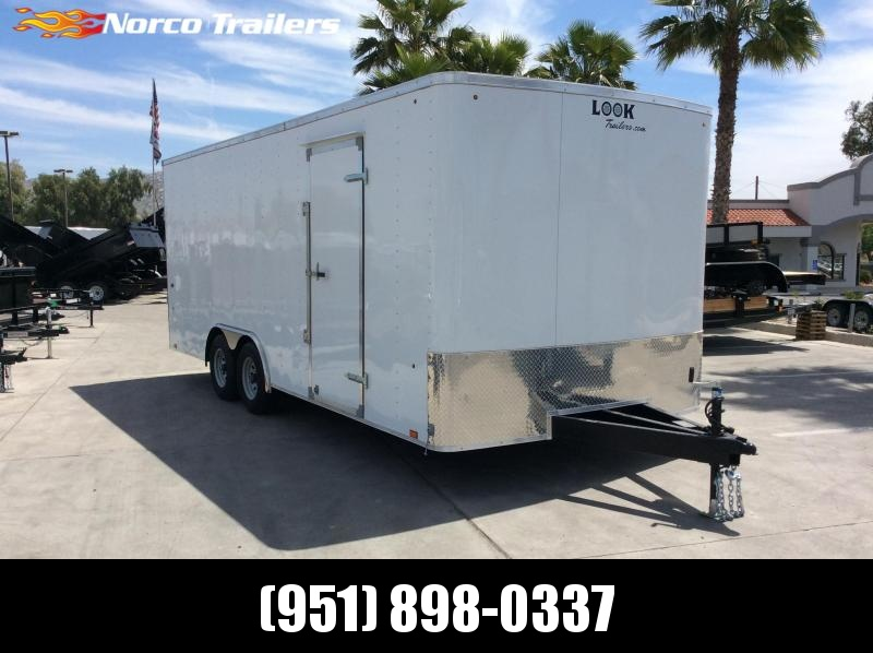 2019 Look Trailers ST 8.5' X 20' Tandem Axle Car / Racing Trailer