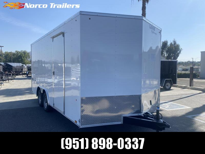 2021 Look Trailers Element 8.5' x 18' Tandem Axle Car / Racing Trailer