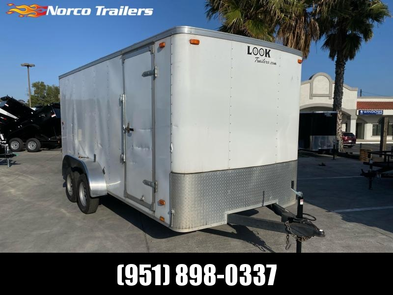 2015 Look Trailers STLC 7' X 16' Tandem Axle Enclosed Cargo Trailer