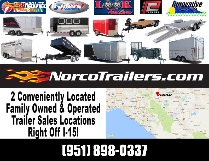 2015 Look Trailers STLC 7' X 16' Tandem Axle Enclosed Cargo Trailer