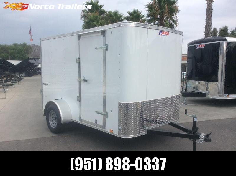 2020 Pace American Outback 6' x 10' Single Axle Enclosed Cargo Trailer