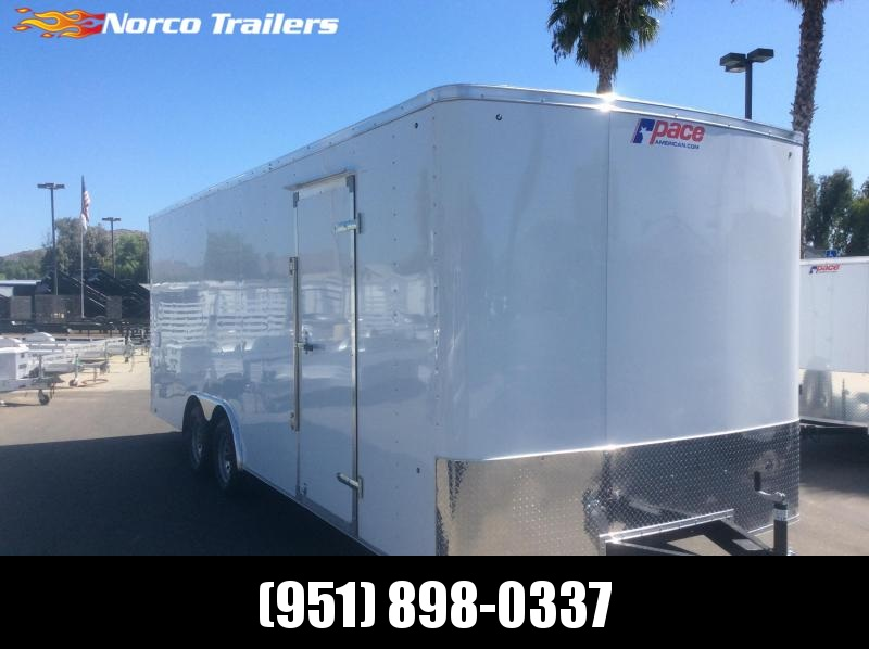 2020 Pace American Outback 8.5' x 22' Tandem Axle Car / Racing Trailer