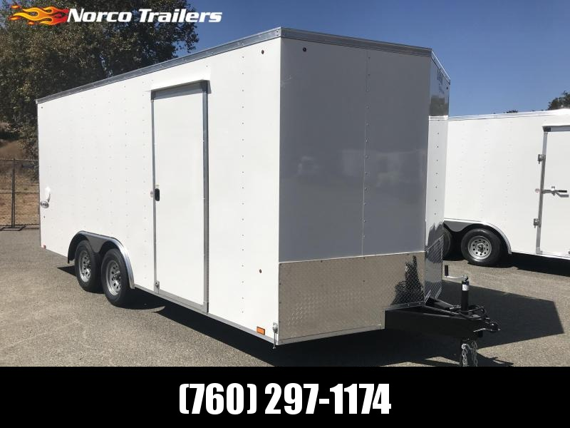 2020 Look Trailers Element V-nose 8.5' x 18' 7K Auto Car / Racing Trailer