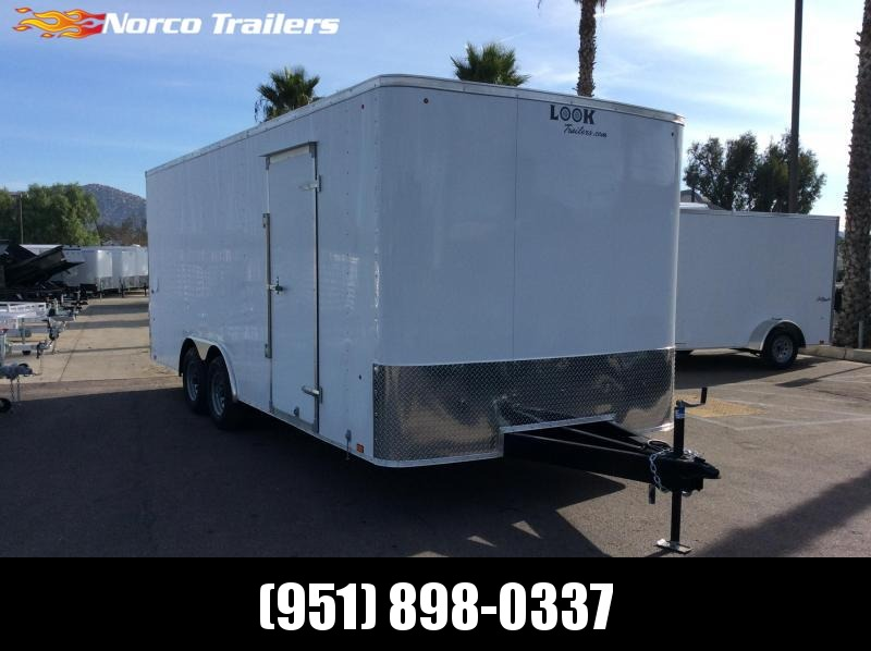2020 Look Trailers ST 8.5' x 20' Tandem Axle Car / Racing Trailer