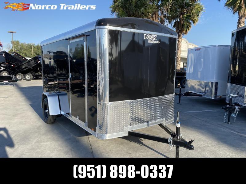2021 Look Trailers Vision 6' x 12' Single Axle Enclosed Cargo Trailer