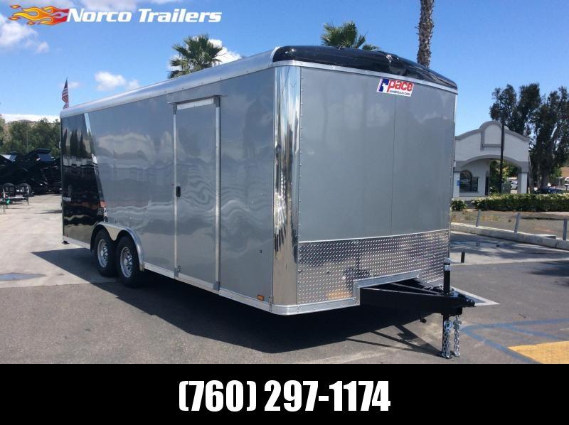 2019 Pace American Cargo Sport 8.5 x 20 Tandem Axle Car / Racing Trailer