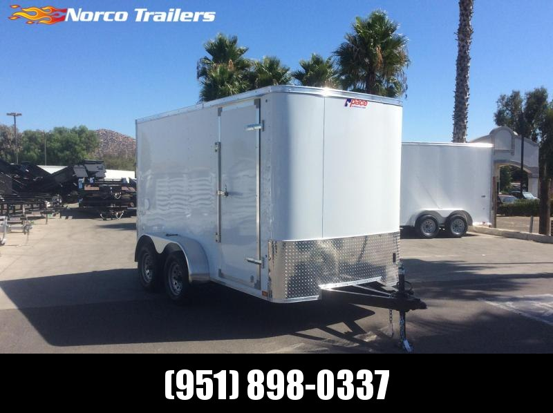 2020 Pace American Outback 6 x 12 Single Axle Enclosed Cargo Trailer
