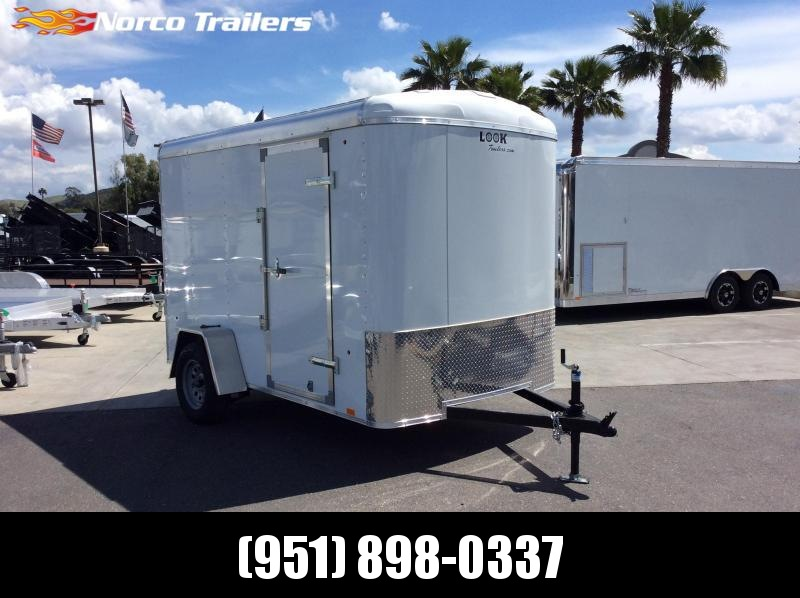 2019 Look Trailers STRLC 6' x 10' Single Axle Enclosed Cargo Trailer