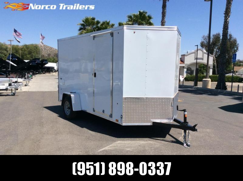 2021 Look Trailers STVLC 6' x 12' Single Axle Enclosed Cargo Trailer