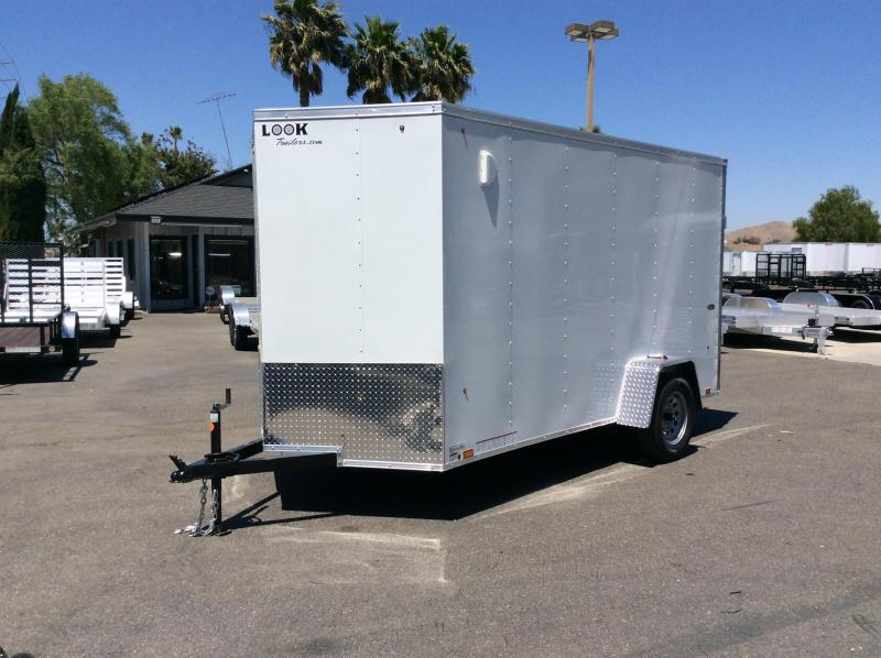2021 Look Trailers STVLC 6' x 12' Single Axle Enclosed Cargo Trailer