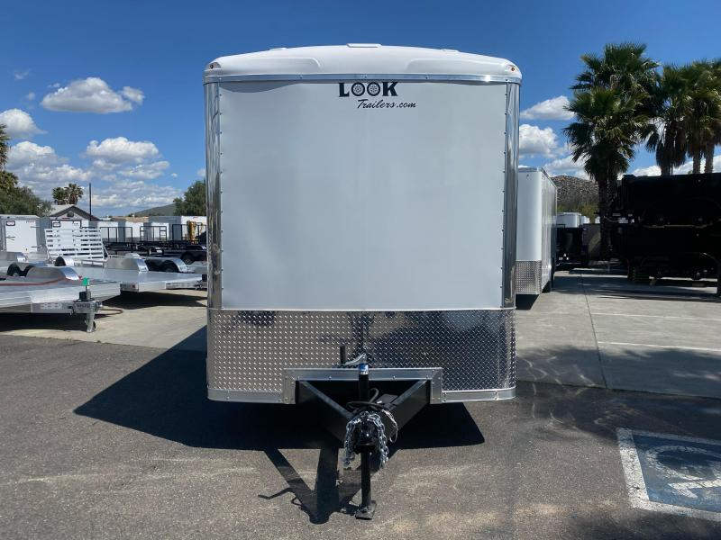 2021 Look Trailers Vision 7' x 14' Tandem Axle Enclosed Cargo Trailer