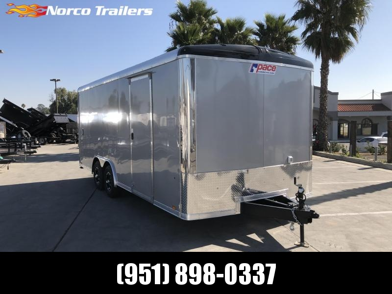 2021 Pace American Cargo Sport 8.5' x 20' Tandem Axle Car / Racing Trailer