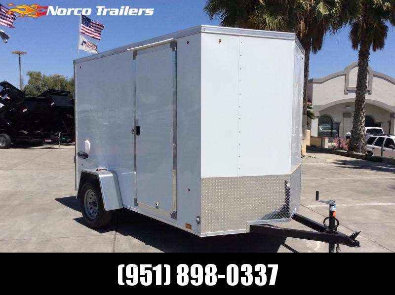 2021 Look Trailers Element 6' x 10' Single Axle Enclosed Cargo Trailer
