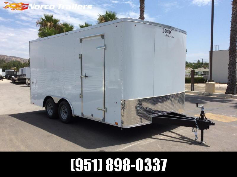 2020 Look Trailers ST 8.5 x 16 Tandem Axle Car / Racing Trailer
