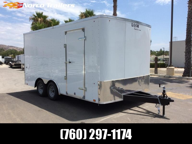 2020 Look Trailers ST 8.5' x 16' Tandem Axle Car / Racing Trailer