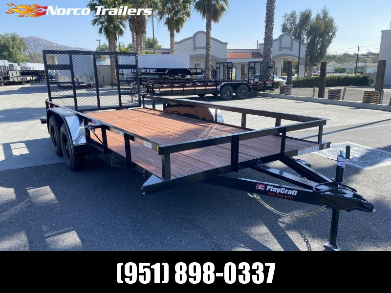 "2020 Sun Country Playcraft 82"" x 16' Tandem Axle Utility Trailer"