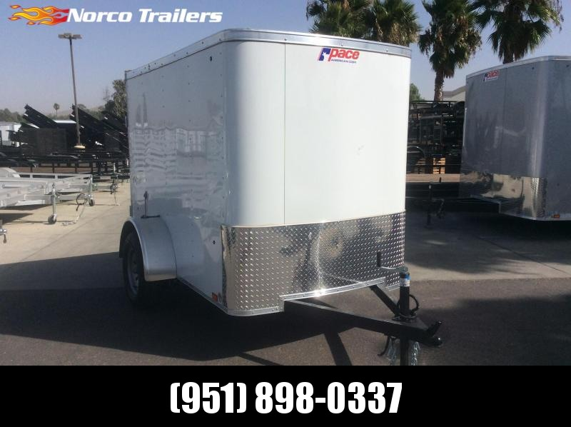 2020 Pace American Outback 5 x 8 Single Axle Enclosed Cargo Trailer