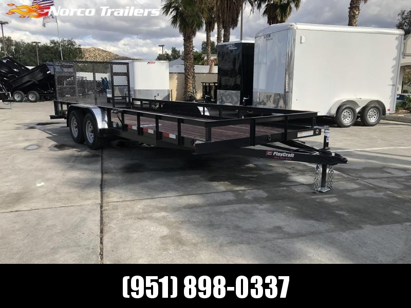 "2018 Sun Country 82"" x 20' Tandem Axle Utility Trailer"