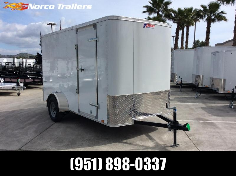 2019 Pace American OB 6 X 12 Single Axle Enclosed Cargo Trailer