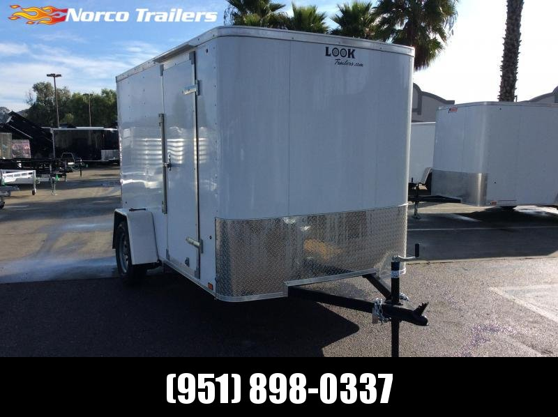 2020 Look Trailers STLC 6 x 10 Single Axle Enclosed Cargo Trailer