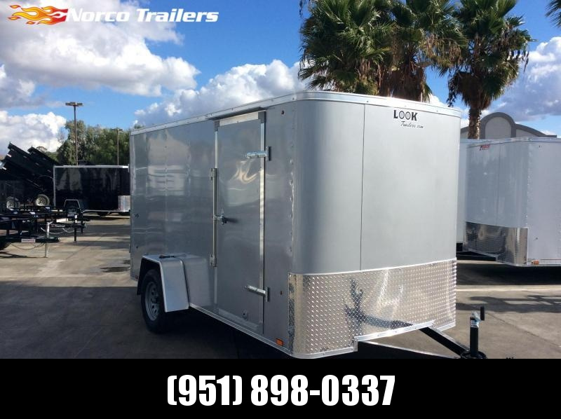 2020 Look Trailers STLC 6' x 12' Single Axle Enclosed Cargo Trailer