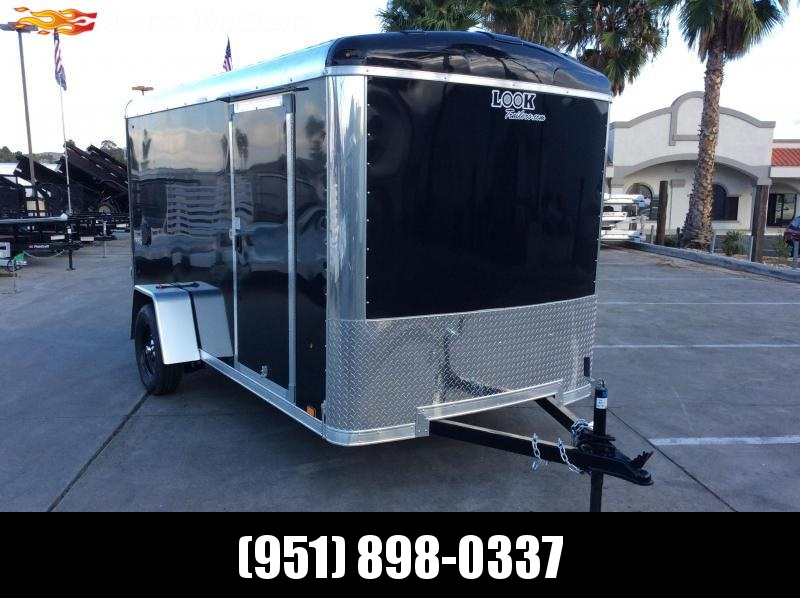 2020 Look Trailers Vision 6' x 12' Single Axle Enclosed Cargo Trailer